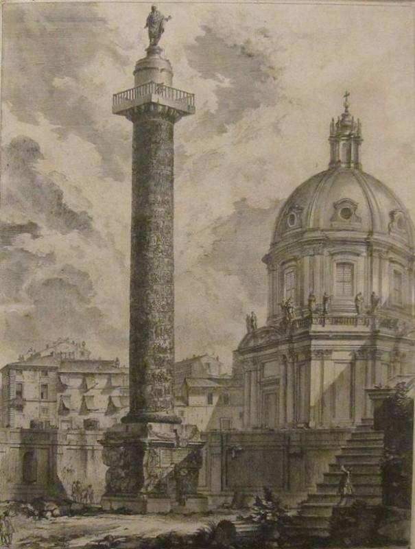 Piranesi Rome - Kolom van Trajanus