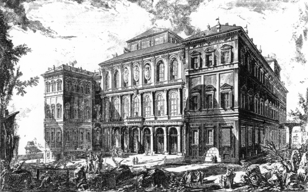 Piranesi Rome - Palazzo Barberini