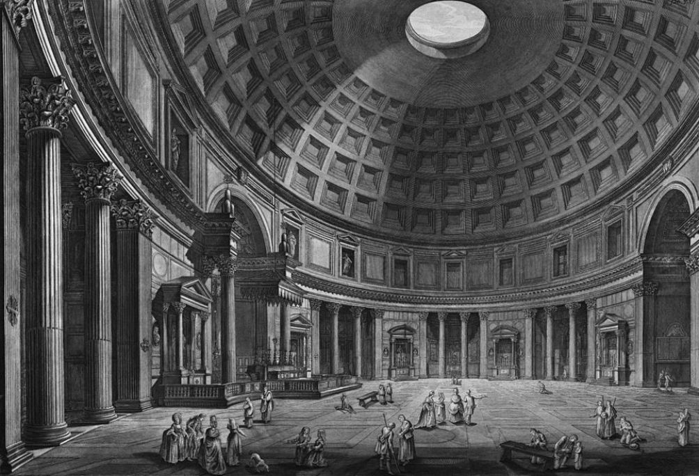 Piranesi Rome - Pantheon