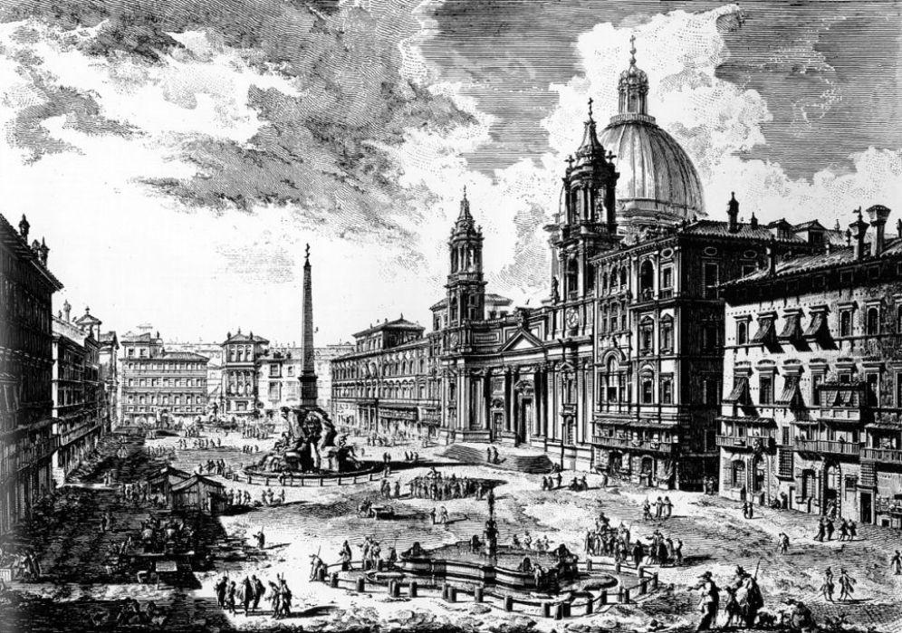 Piranesi Rome - Piazzo Navona