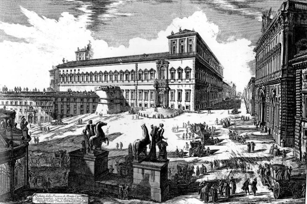 Piranesi Rome - Quirinal_Giovanni