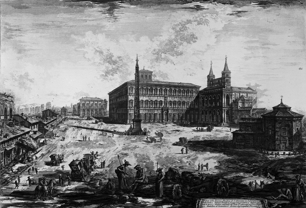Piranesi Rome - Sint-Jan van Lateranen