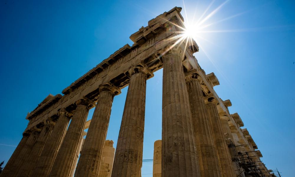 Uitgelezene De Griekse Akropolis: alles ter ere van Athene - Geschiedenis Beleven VT-95